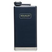 【美國Stanley】 SS經典酒壺236ml(錘紋藍)