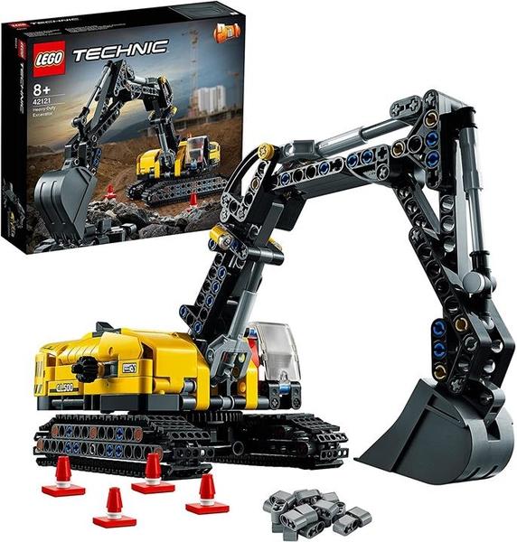 LEGO 樂高 科技系列 重型挖掘機 42121