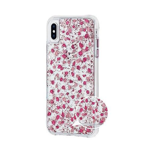 美國 Case-Mate iPhone XS/Xs Max細緻碎花防摔手機保護殼 - 粉色