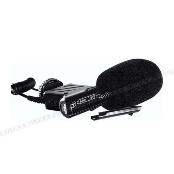 《飛翔3C》BOYA 博雅 BY-VM01 電容式迷你麥克風│公司貨│超心型指向 相機收音 攝影直播
