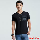 BOBSON  男款V領貼袋上衣(26025-88)