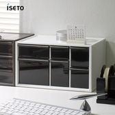 【nicegoods】日本ISETO 桌上分類抽屜收納盒-L