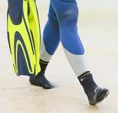 沙灘襪 迪卡儂2mm潛水襪手套沙灘襪浮潛水裝備長筒防珊瑚防刺防割SUBEA CY潮流