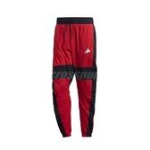 adidas 長褲 O Shape Pants 紅 黑 男款 彭于晏 風褲 運動 訓練 【PUMP306】 FI4685