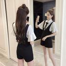 VK精品服飾 韓國風OL白襯衫雪紡衫高腰...
