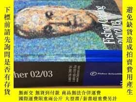 二手書博民逛書店Fisher罕見Catalog 2002 03 精裝巨厚冊Y442157 費希爾 費希爾
