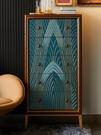 美式五斗櫃實木抽屜式臥室儲物收納櫃子客廳歐式裝飾輕奢斗櫃靠牆 夢幻小鎮