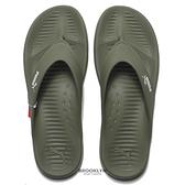 PUMA 拖鞋 夾腳拖 防水 橡膠 軍綠色 男 (布魯克林) 37509806