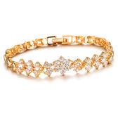 【5折超值價】時尚精美精緻日系簡約特色鑲鑽女款手環