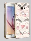 ♥ 俏魔女美人館 ♥Samsung Galaxy S7/s7 Edge {金屬邊框*粉彩圖紋 } 手機殼 手機套 保護殼