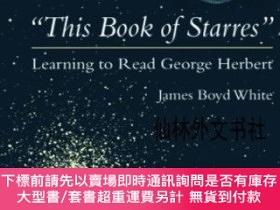 二手書博民逛書店【罕見】this Book Of Starres : Learning To Read George Herber