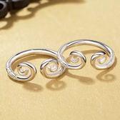 純銀情侶緊箍咒戒指男士女款一對學生孫悟空金箍棒個性潮人對戒指