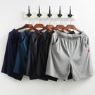 大褲衩 夏季棉質男士五分家居睡褲薄款寬松大碼運動褲居家休閑短褲【快速出貨】