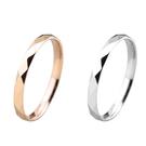 316L醫療鋼 稜格紋菱形 戒指指節戒尾...