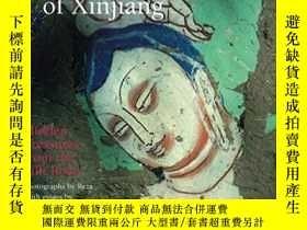 二手書博民逛書店Painted罕見Buddhas of Xinjiang: Hi