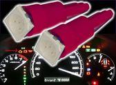 236A594   T5 5050 1燈插泡 紅光單入   LED 方向燈 倒車燈