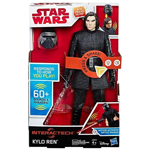 《 STAR WARS 星際大戰 》星際大戰電影 8 - 12吋互動式電子英雄人物 KYLO REN ╭★ JOYBUS玩具百貨