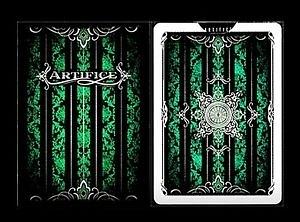 【USPCC撲克】撲克牌 Artifice V2 綠色(白邊)