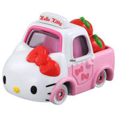 《 TOMICA 》夢幻小汽車 Dream TM凱蒂貓蘋果貨車 ╭★ JOYBUS玩具百貨