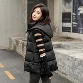 羽絨棉馬甲女士短款2020秋冬新款韓版寬鬆棉背心外穿馬甲坎肩外套 雙十二購物節
