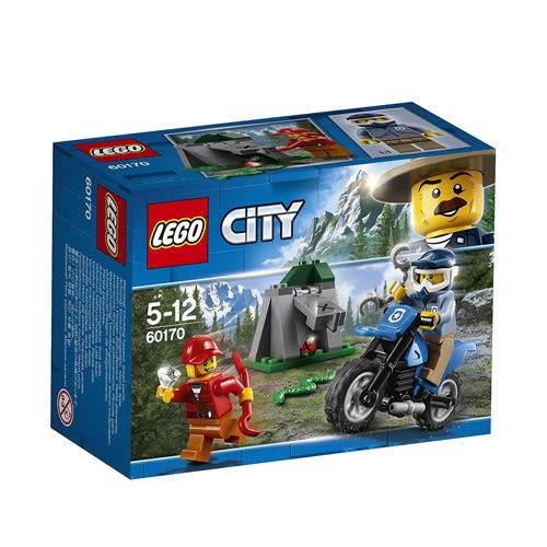 樂高LEGO 60170 City 城市系列 越野追逐戰