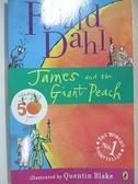 【書寶二手書T2/原文小說_BK3】James and the Giant Peach_Dahl, Roald