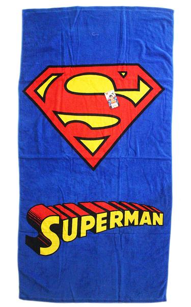 【卡漫城】 超人 標誌 大浴巾 ㊣版 Superman DC漫畫 毛巾 浴巾 海灘巾 洗澡 泡湯 游泳 小涼被 印花