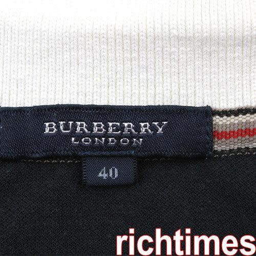 Burberry寬黑白紋休閒衫BB3A0330