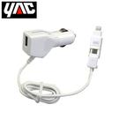 轉換器 日本YAC Apple Lightning-MicroUSB轉換附USB充電器(TP-194)【亞克】