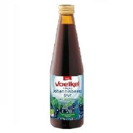 Voelkel維可 有機黑醋栗原汁 330ml/瓶 一瓶 德國 黑醋栗汁
