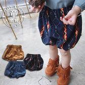 短褲 女童 嬰幼兒 燈芯絨 寶寶 PP褲 麵包褲 BW