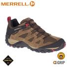 【MERRELL 美國 男 ALVERSTONE GORE-TEX健行鞋《袋鼠棕》】ML034535/健走鞋/休閒鞋/戶外鞋