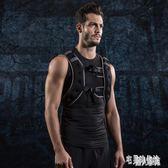 負重背心跑步裝備男隱形沙袋訓練健身運動馬甲沙衣 DJ4644【宅男時代城】