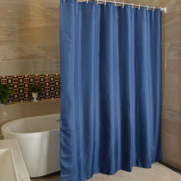 加厚浴簾衛生間遮光隔斷簾子布防霉防水浴室淋浴掛簾MJBL 年尾牙提前購