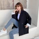 西裝外套 西裝外套女2020新款春秋韓版小個子黑色網紅炸街小西服英倫風上衣 618購物節