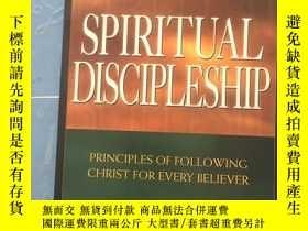 二手書博民逛書店Spiritual罕見Discipleship: Principles of Following Christ f