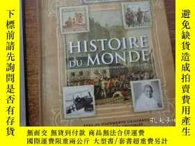二手書博民逛書店HISTOIRE罕見DU MONDE A TRAVERS LES PLUS GRANDS DOCUMENTS D