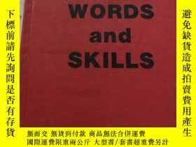 二手書博民逛書店spelling罕見words and skills 拼寫單詞和