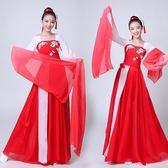 全館85折2019新款水袖舞蹈服裝采薇古典舞演出服女飄逸中國風仙女古裝成人