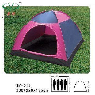 野營者3人單層帳篷