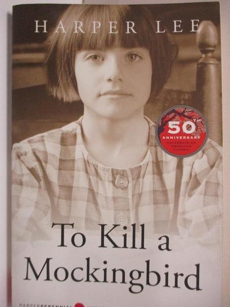 【書寶二手書T1/原文小說_HZN】To Kill a Mockingbird_Lee, Harper