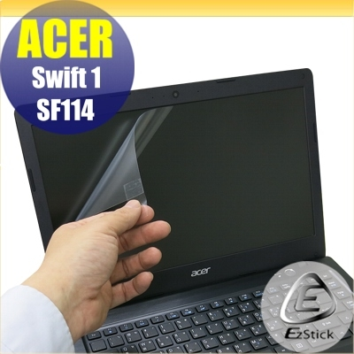 【Ezstick】ACER Swift 1 SF114-31 專用(14W小) 靜電式筆電LCD液晶螢幕貼 (可選鏡面或霧面)