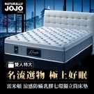 【Naturally JOJO】摩達客推薦 雷米頓-高級涼感防螨乳膠七環獨立筒床墊 (雙人特大 6x7尺)