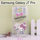 三麗鷗空壓軟殼 Samsung Galaxy J7 Pro (5.5吋)【正版】Hello Kitty