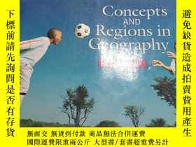 二手書博民逛書店Concepts罕見AND Regions in Geography SECOND EDITION [英文原版]