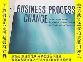 二手書博民逛書店BUSINESS罕見PROCESS CHANGEY23470 P