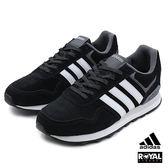 Adidas 新竹皇家 RUNEO 10W 黑色 麂皮 運動 慢跑鞋 男款No.A9123