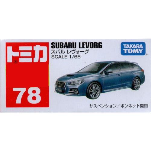 【 TOMICA火柴盒小汽車 】TM078 速霸陸 SUBARU LEVORG ╭★ JOYBUS玩具百貨