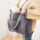 可愛印花肩背手提包 收納包 大容量 旅行...