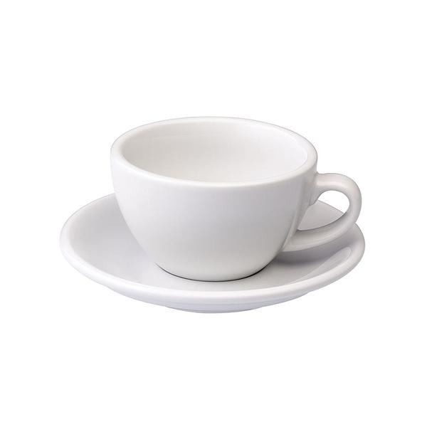 Loveramics Coffee Pro-Egg 卡布奇諾咖啡杯盤組200ml(白)